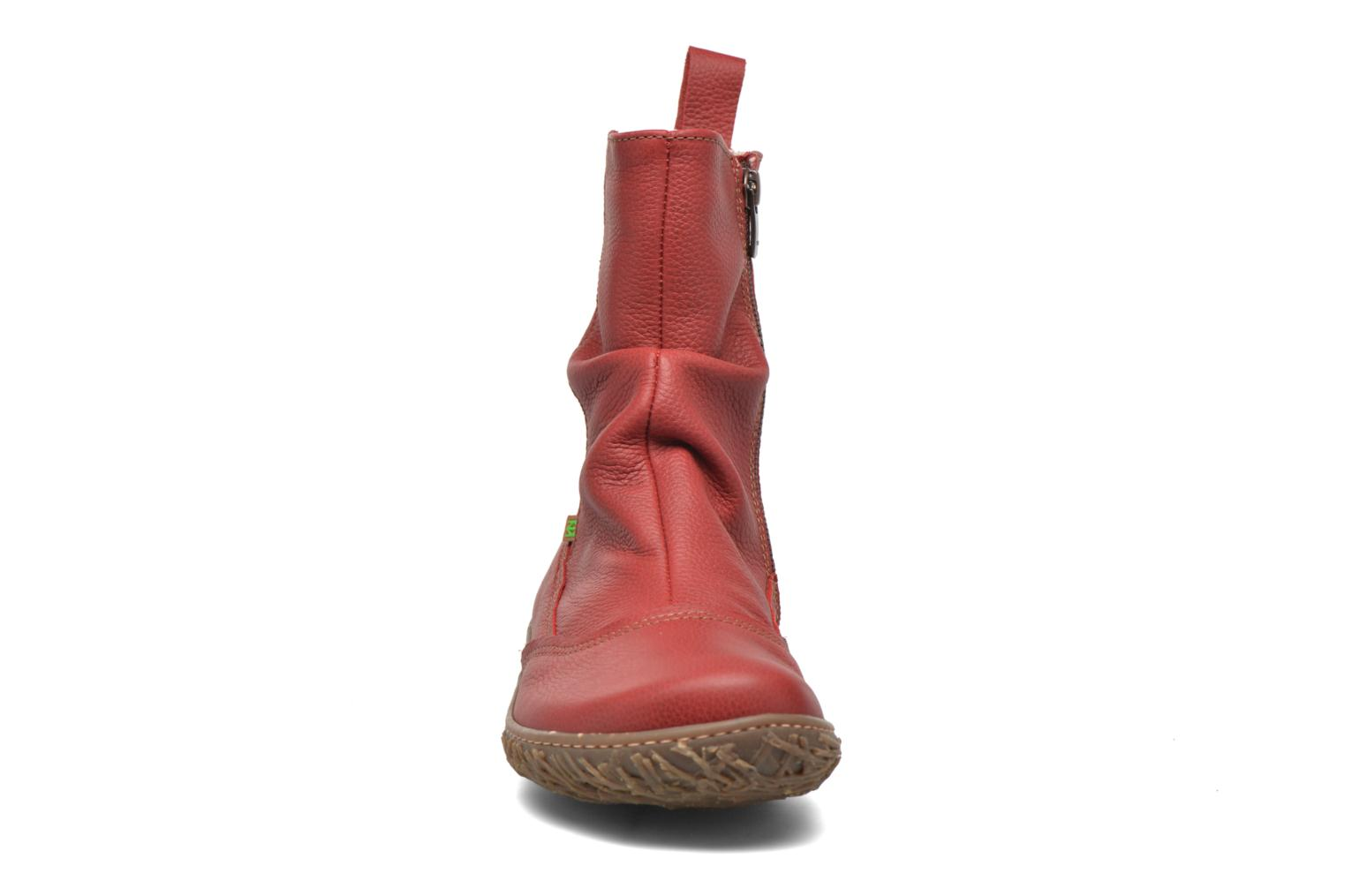 Ankle boots El Naturalista Nido Ella N722 Red model view