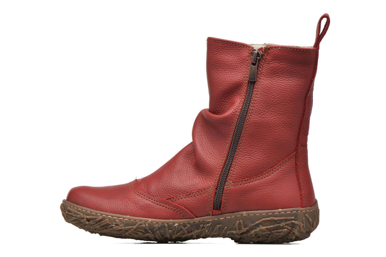 Boots en enkellaarsjes El Naturalista Nido Ella N722 Rood voorkant
