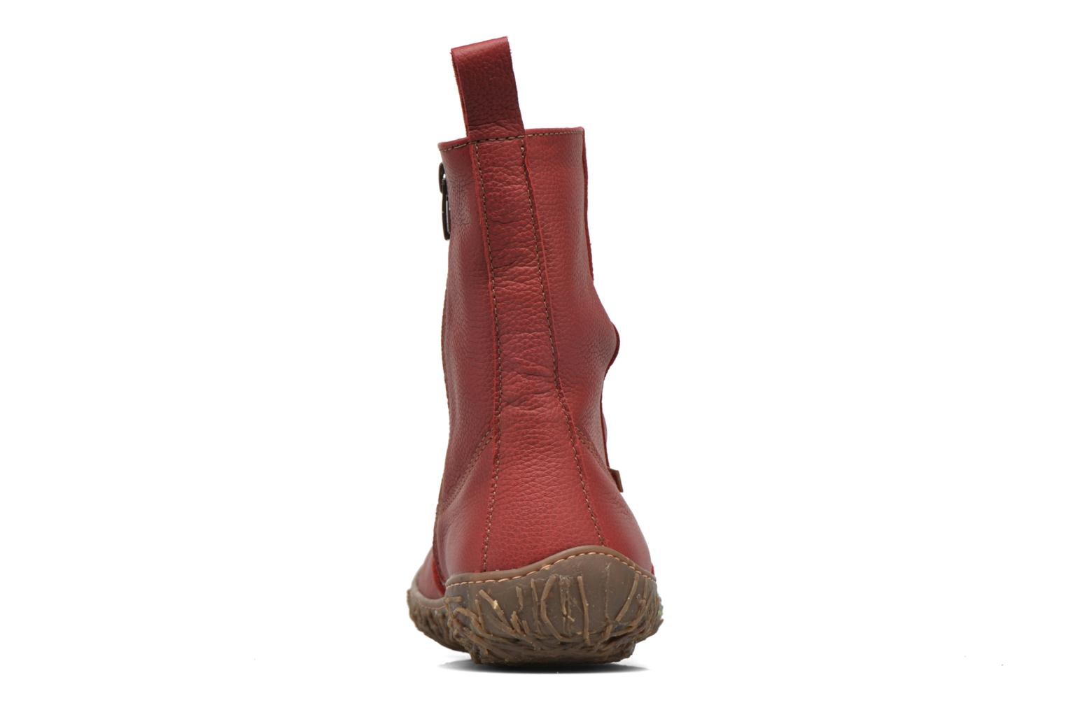 Ankle boots El Naturalista Nido Ella N722 Red view from the right