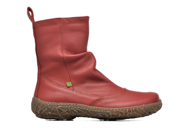Boots en enkellaarsjes El Naturalista Nido Ella N722 Rood achterkant
