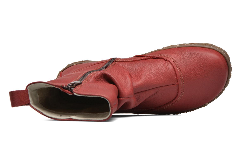 Boots en enkellaarsjes El Naturalista Nido Ella N722 Rood links