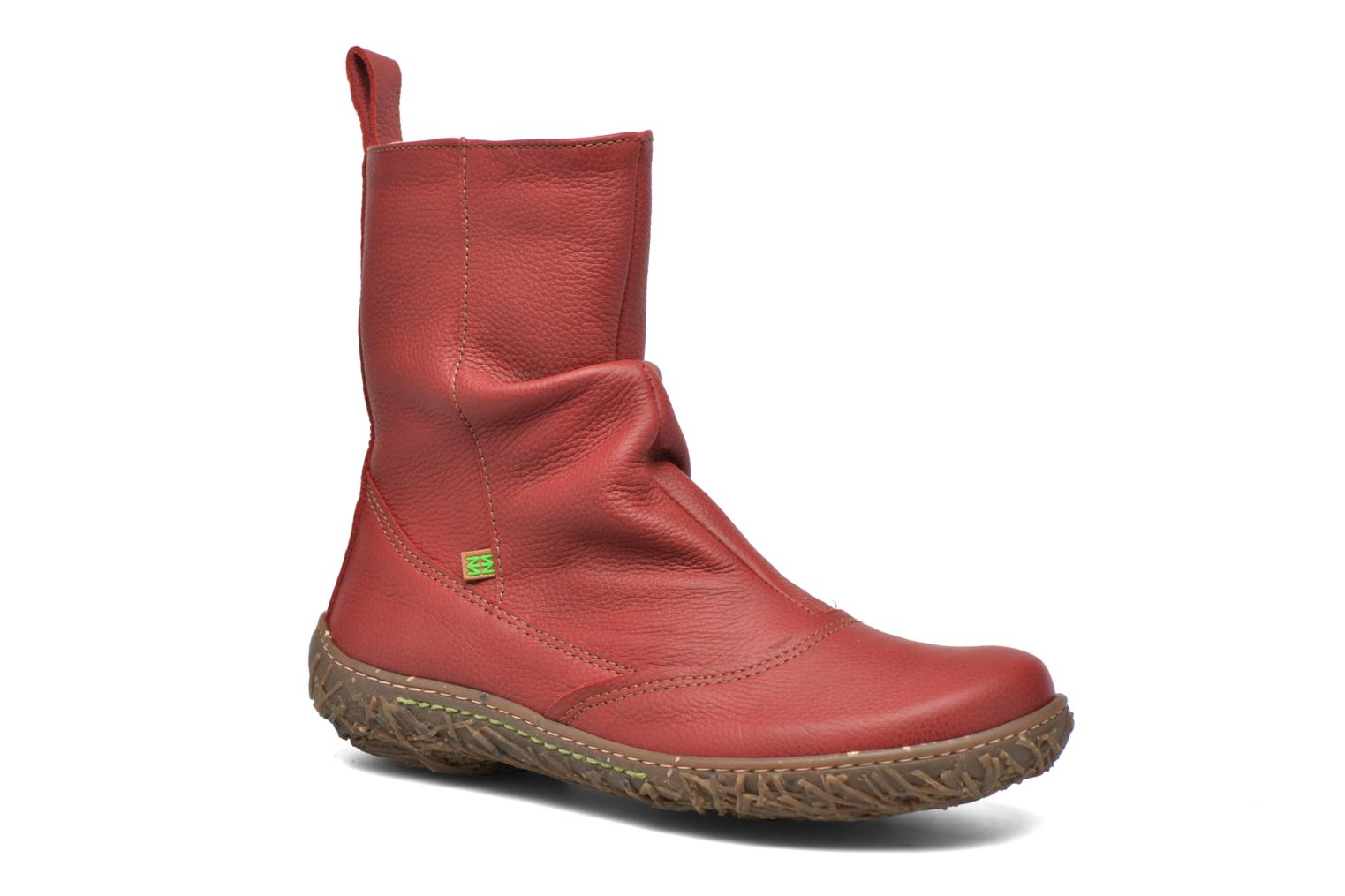 Ankle boots El Naturalista Nido Ella N722 Red detailed view/ Pair view