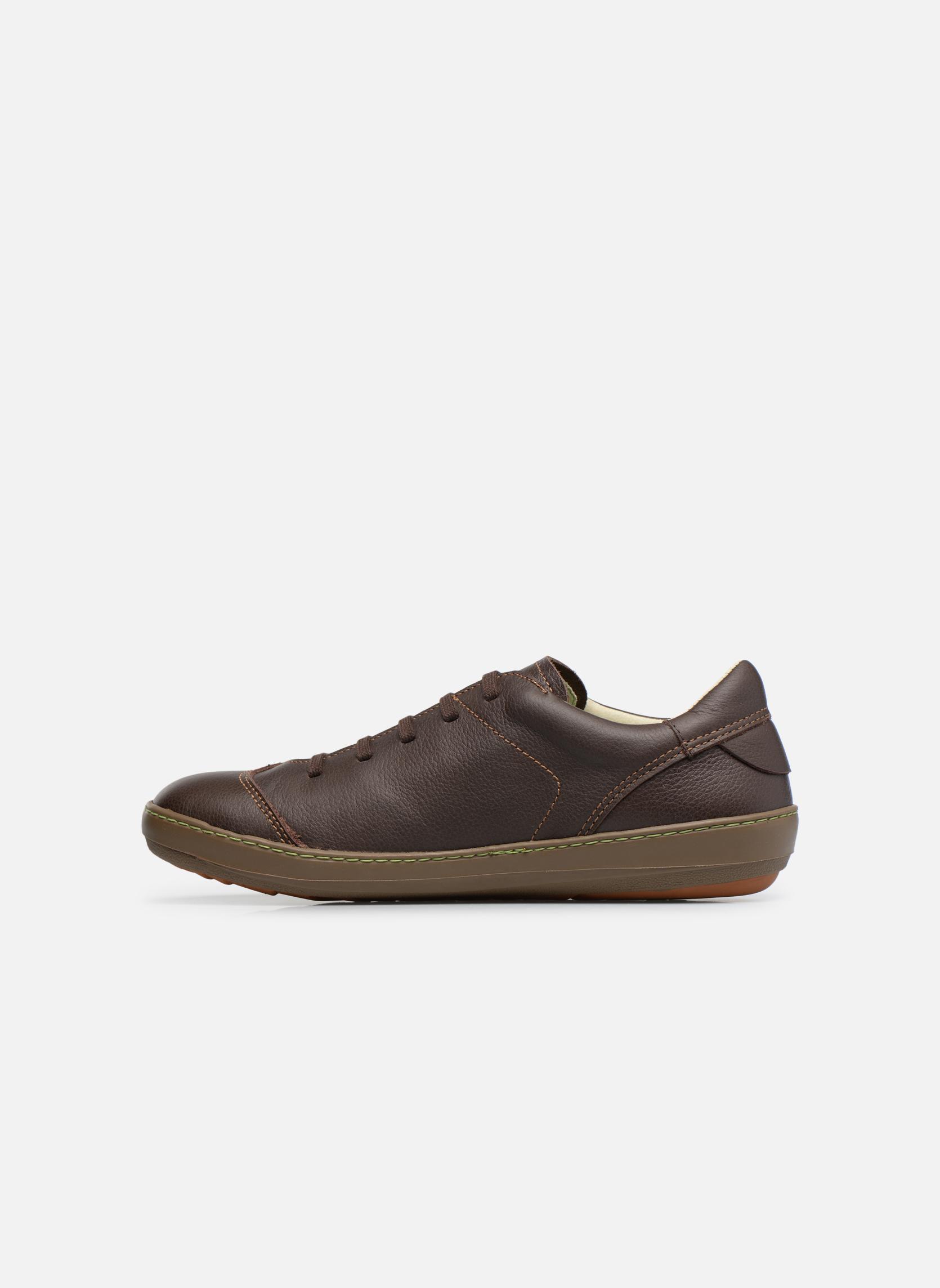 Zapatos con cordones El Naturalista Meteo N211 Marrón vista de frente