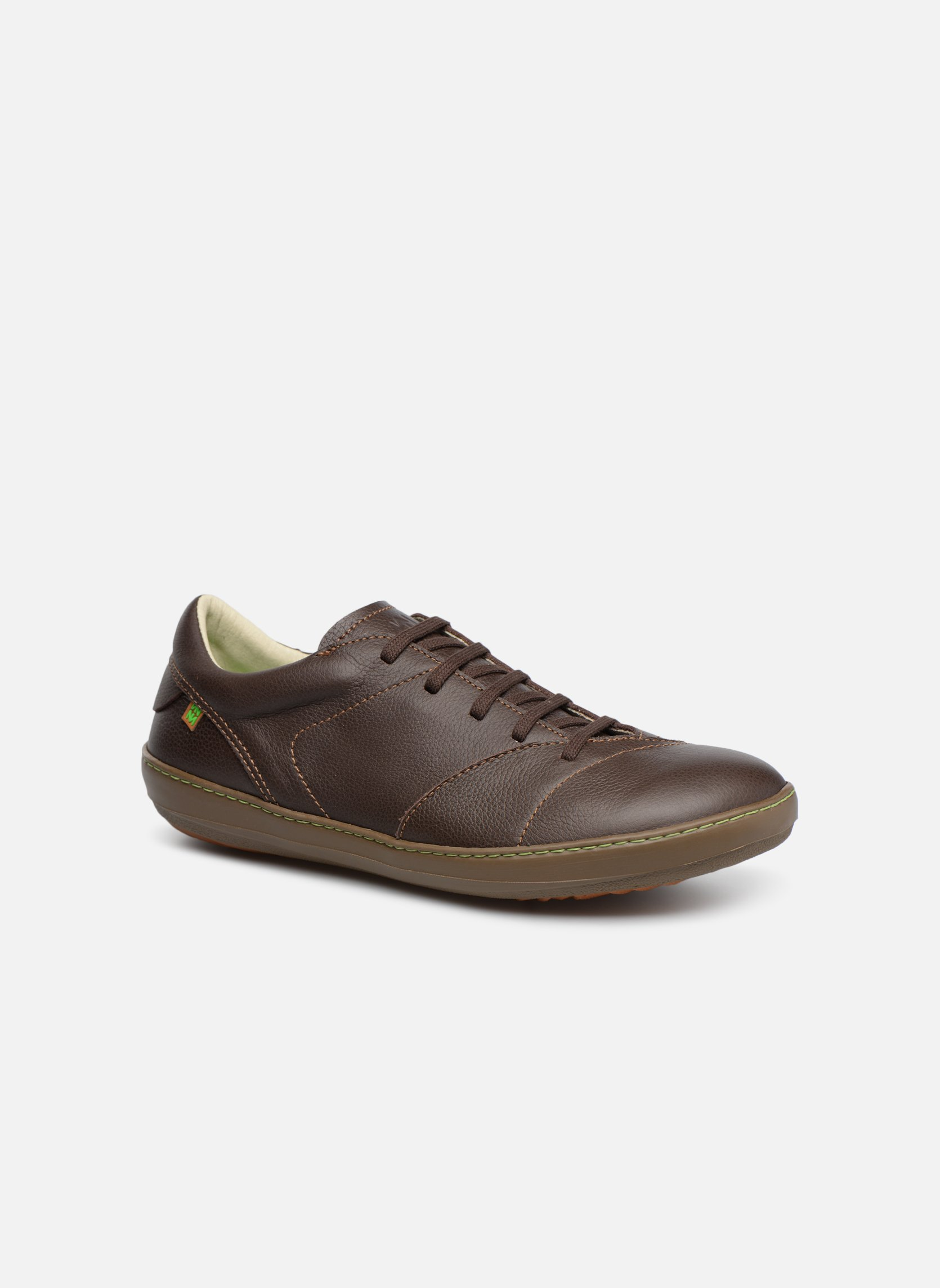 Lace-up shoes El Naturalista Meteo N211 Brown detailed view/ Pair view