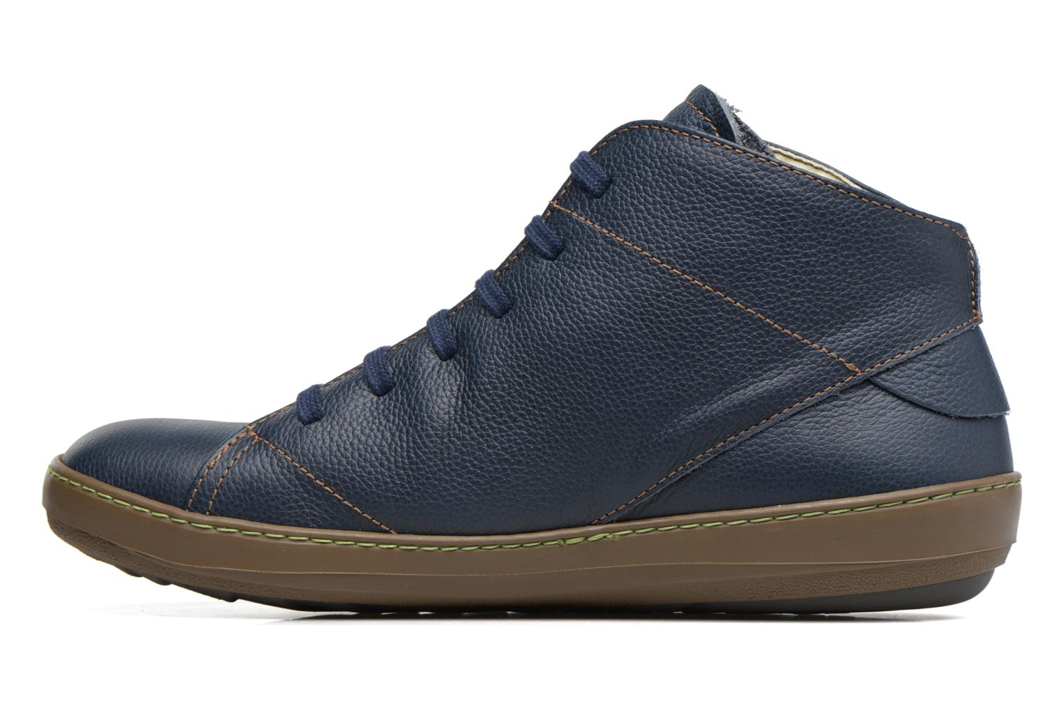 Lace-up shoes El Naturalista Meteo N212 Blue front view