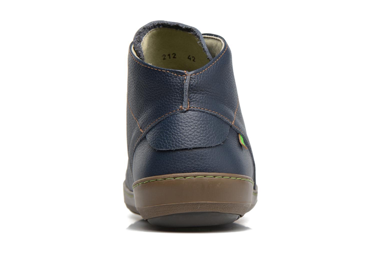 Zapatos con cordones El Naturalista Meteo N212 Azul vista lateral derecha