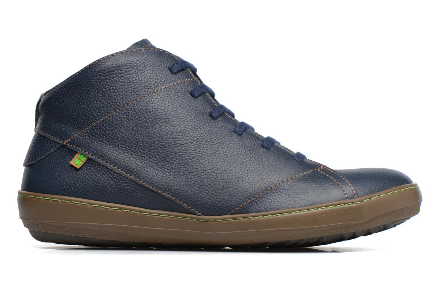Lace-up shoes El Naturalista Meteo N212 Blue back view