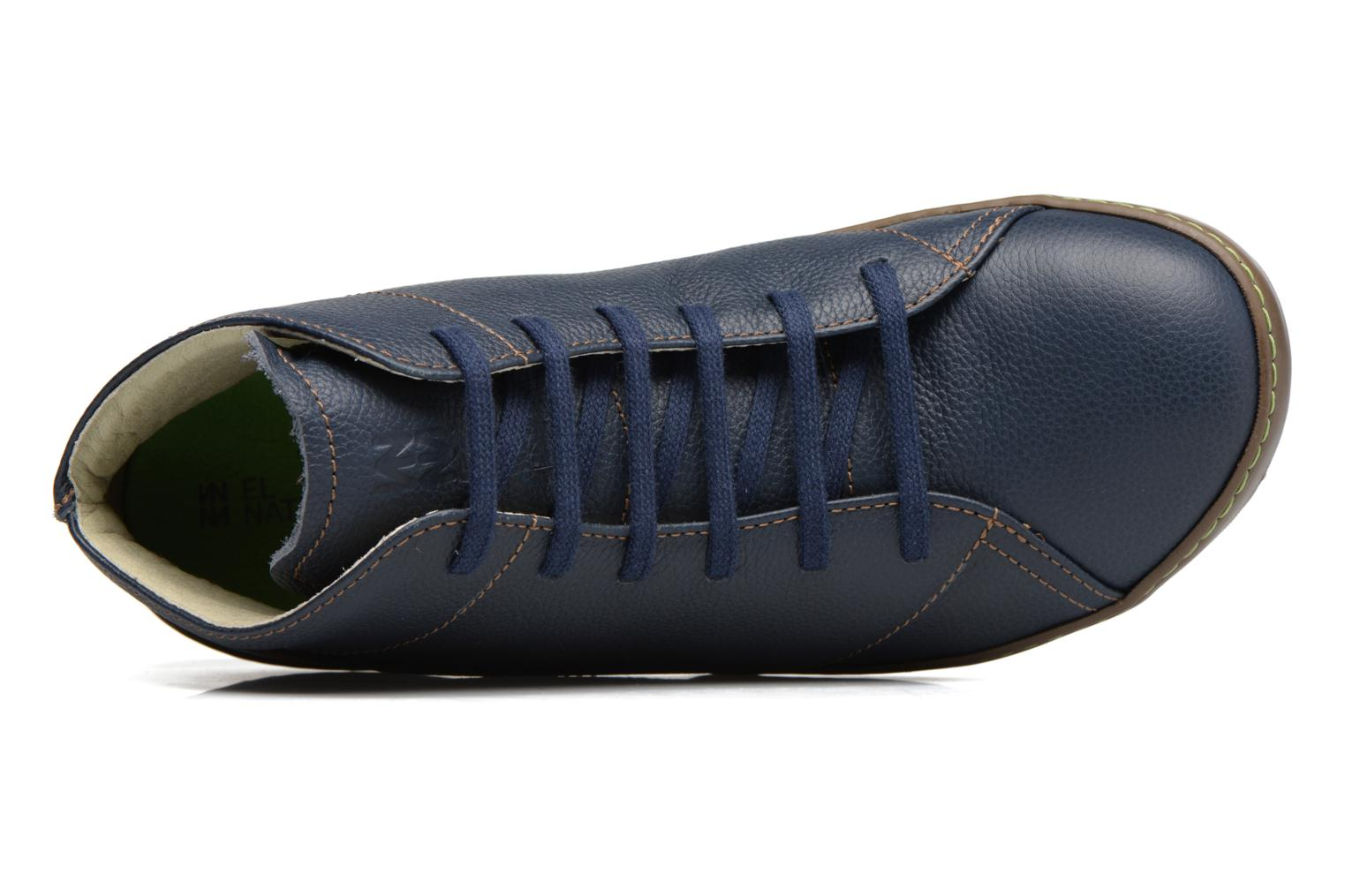 Lace-up shoes El Naturalista Meteo N212 Blue view from the left