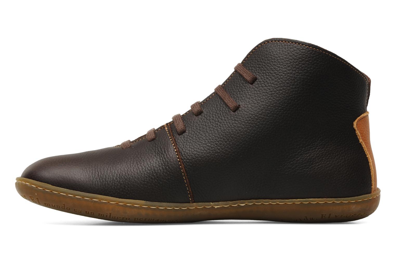 Chaussures à lacets El Naturalista Viajero N267 M Marron vue face