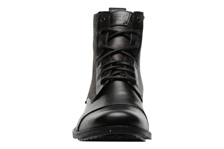 Bottines et boots Levi's Maine Lace Up Noir vue portées chaussures
