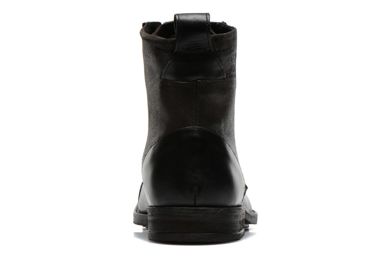 Bottines et boots Levi's Maine Lace Up Noir vue droite