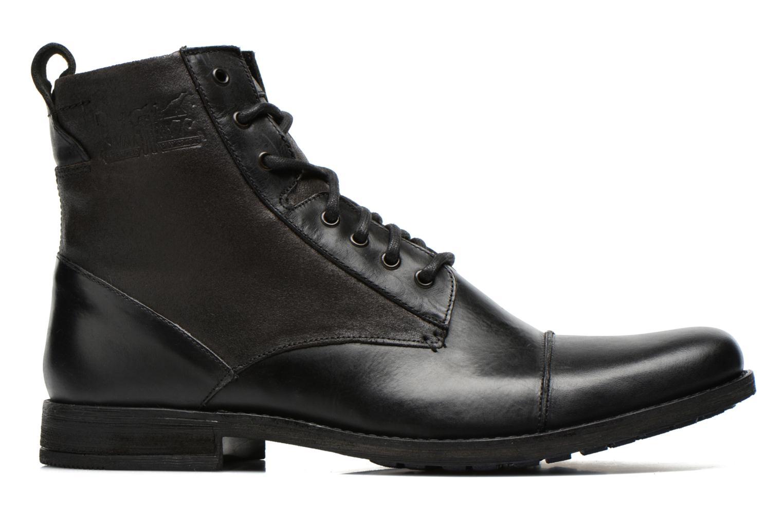 Bottines et boots Levi's Maine Lace Up Noir vue derrière