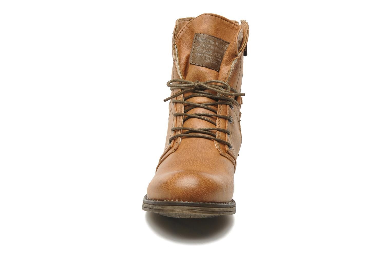 Boots en enkellaarsjes Mustang shoes Irina Bruin model