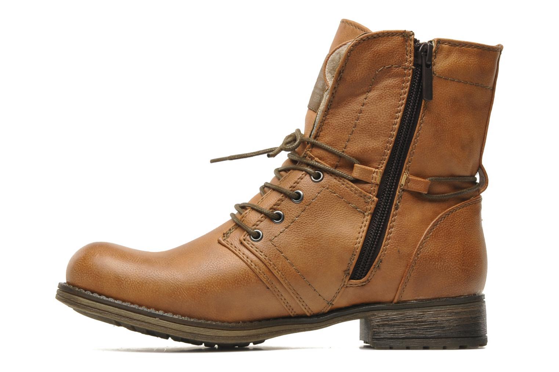 Boots en enkellaarsjes Mustang shoes Irina Bruin voorkant
