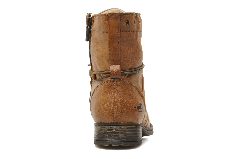 Boots en enkellaarsjes Mustang shoes Irina Bruin rechts