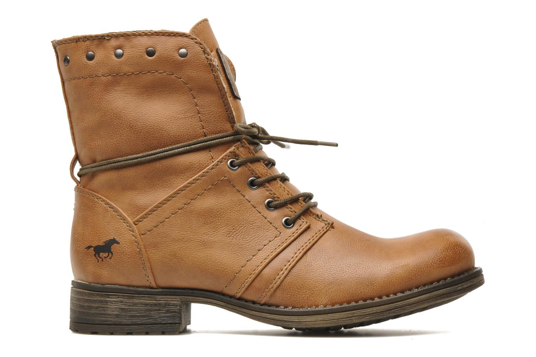 Boots en enkellaarsjes Mustang shoes Irina Bruin achterkant