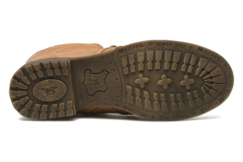 Boots en enkellaarsjes Mustang shoes Irina Bruin boven