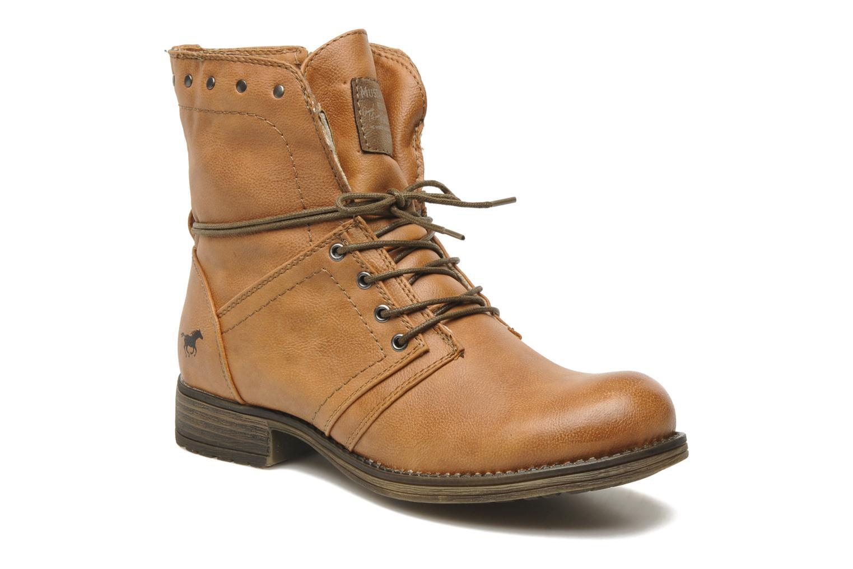 Boots en enkellaarsjes Mustang shoes Irina Bruin detail