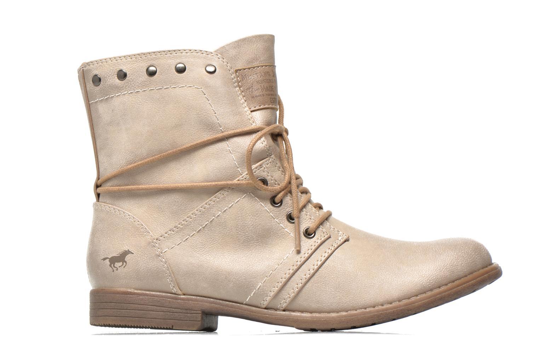 Bottines et boots Mustang shoes Mirjam Beige vue derrière