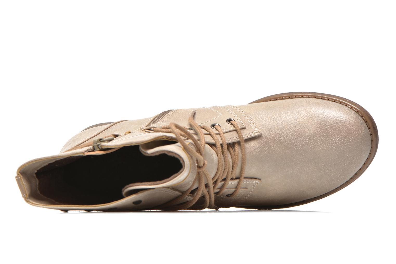 Bottines et boots Mustang shoes Mirjam Beige vue gauche