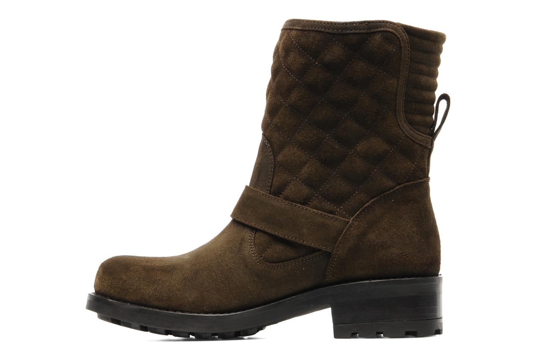 Boots en enkellaarsjes Mellow Yellow Otawa Bruin voorkant