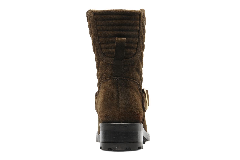Boots en enkellaarsjes Mellow Yellow Otawa Bruin rechts