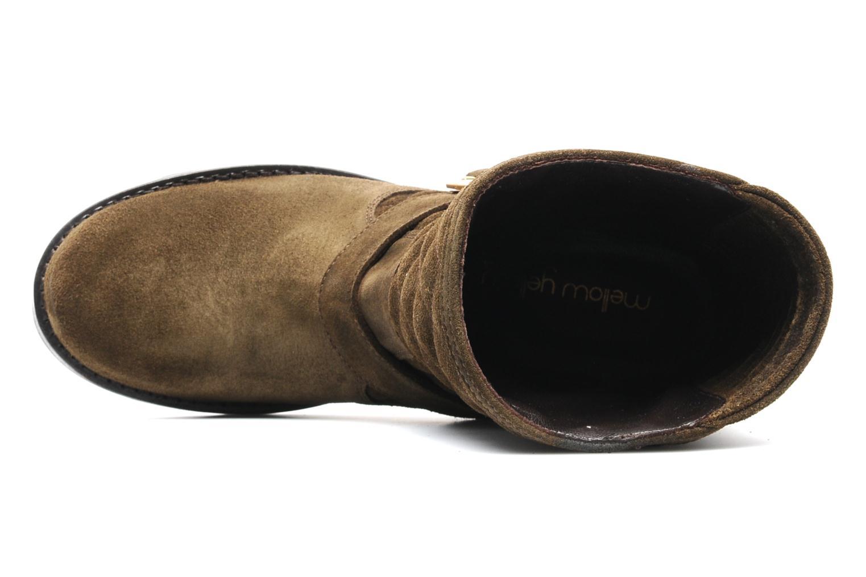 Boots en enkellaarsjes Mellow Yellow Otawa Bruin links