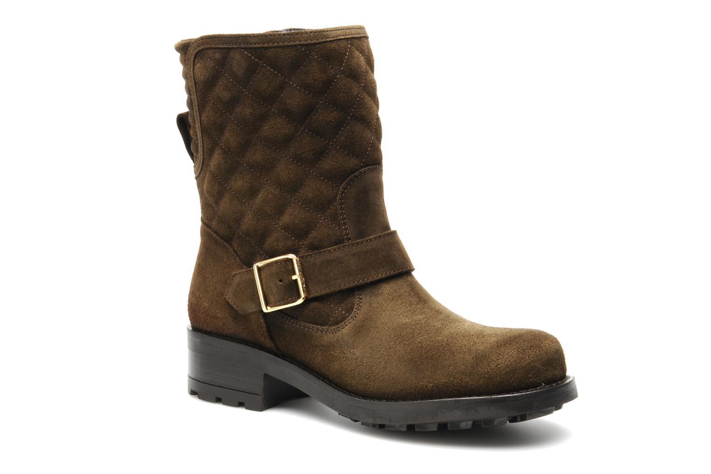 Boots en enkellaarsjes Mellow Yellow Otawa Bruin detail