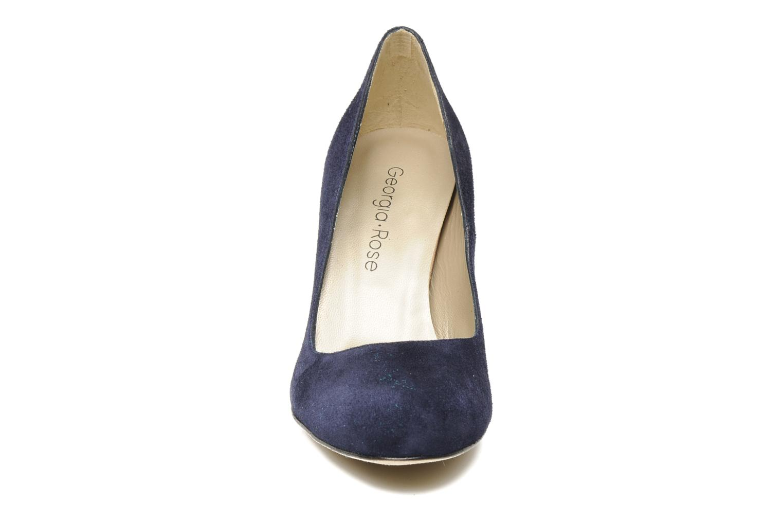 Escarpins Georgia Rose Pamela CFT Bleu vue portées chaussures
