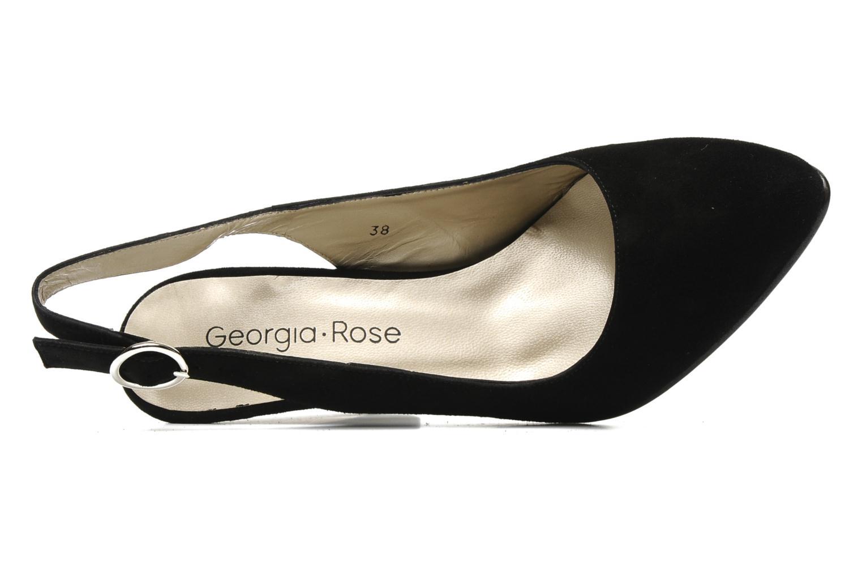 Escarpins Georgia Rose Ashley CFT Noir vue gauche