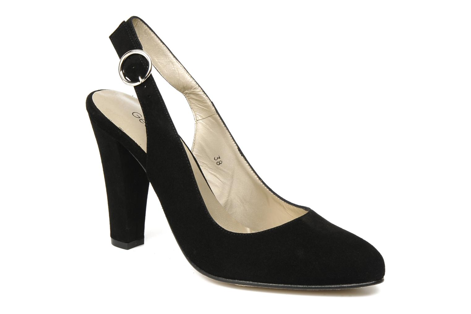 Pumps Georgia Rose Ashley CFT schwarz detaillierte ansicht/modell