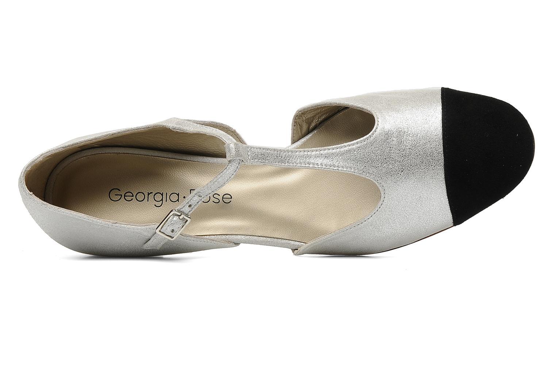 Sandalen Georgia Rose Jessey CFT silber ansicht von links