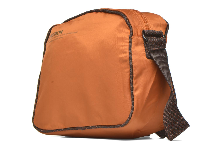 Handtaschen Bensimon Small Besace orange schuhe getragen