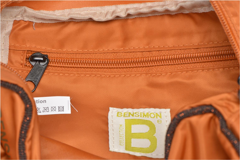 Handtassen Bensimon Small Besace Oranje achterkant