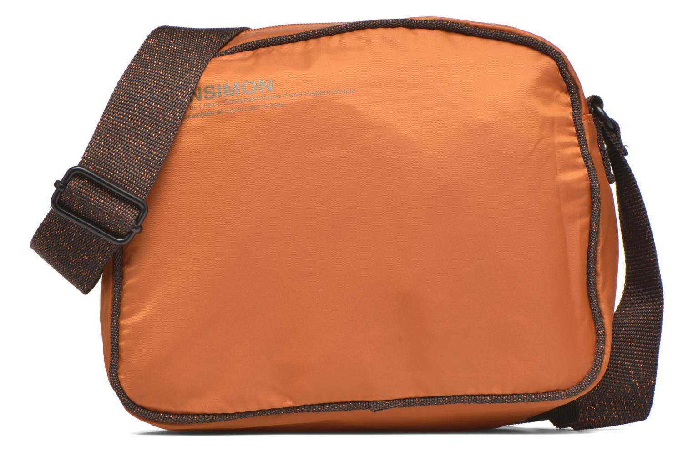 Handtassen Bensimon Small Besace Oranje detail