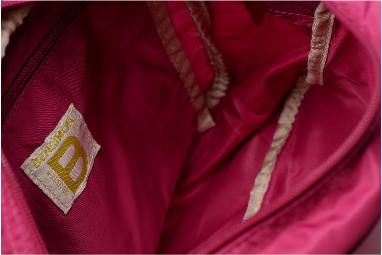 Handbags Bensimon Small Besace Pink back view