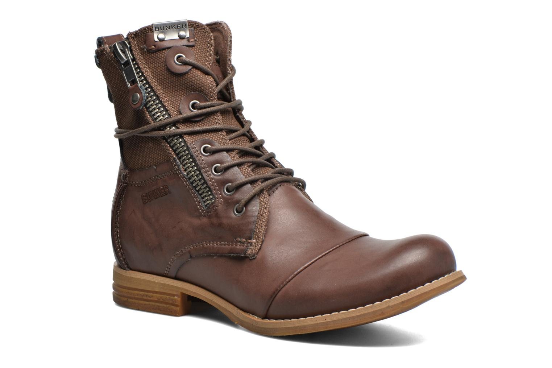 Bottines et boots Bunker Tara por Marron vue détail/paire
