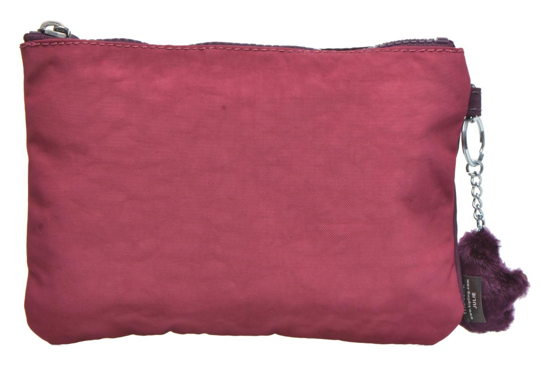 Kleine lederwaren kipling Iaka Roze voorkant