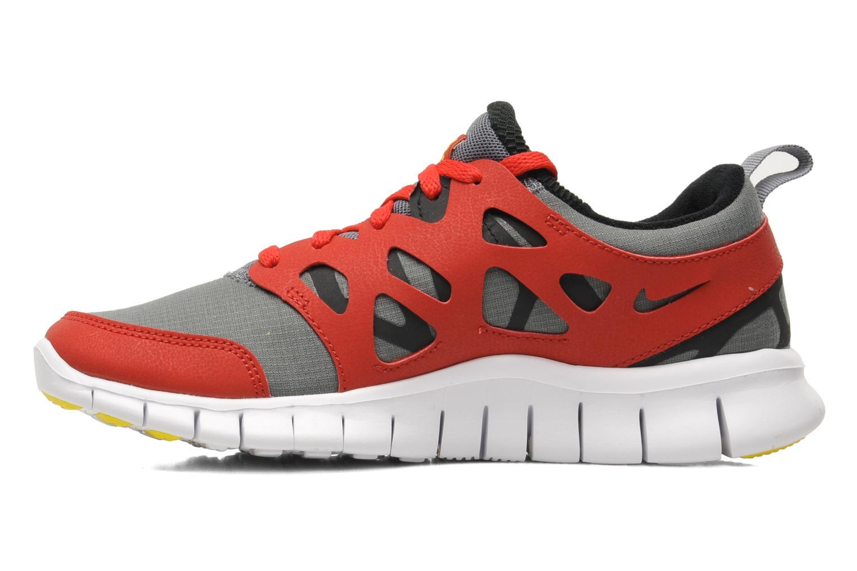 Sportschuhe Nike Nike Free Run 2 (Gs) rot ansicht von vorne