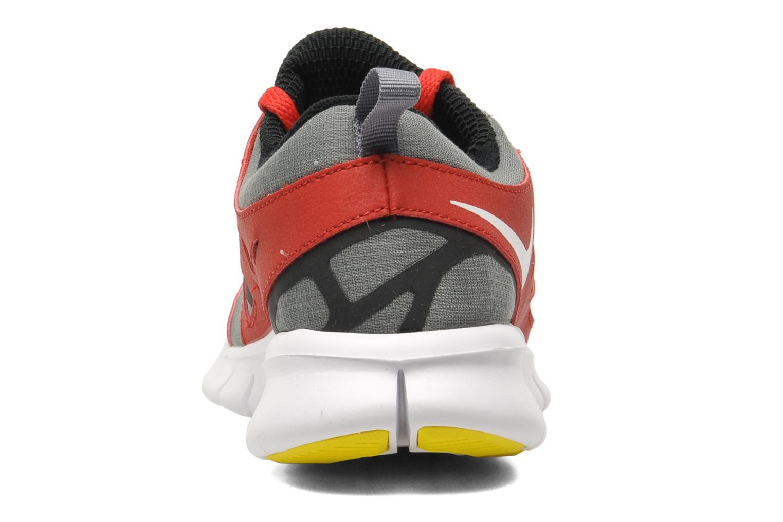 Sportschuhe Nike Nike Free Run 2 (Gs) rot ansicht von rechts