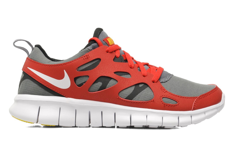 Sportschuhe Nike Nike Free Run 2 (Gs) rot ansicht von hinten
