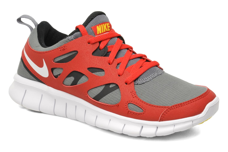 Sportschuhe Nike Nike Free Run 2 (Gs) rot detaillierte ansicht/modell