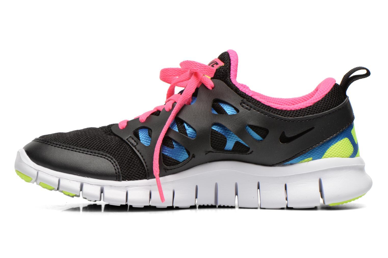 Sportschuhe Nike Nike Free Run 2 (Gs) schwarz ansicht von vorne