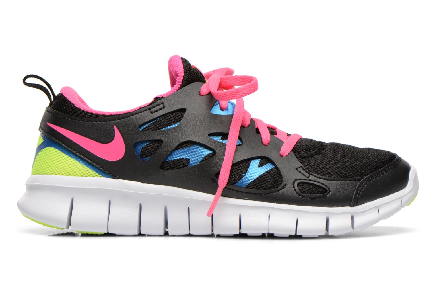 Nike Free Run 2 (Gs) Black/Pink Pow-Photo Blue-Volt