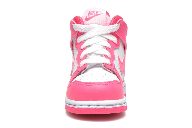Sneaker Nike Nike Dunk High Nd (Td) weiß schuhe getragen