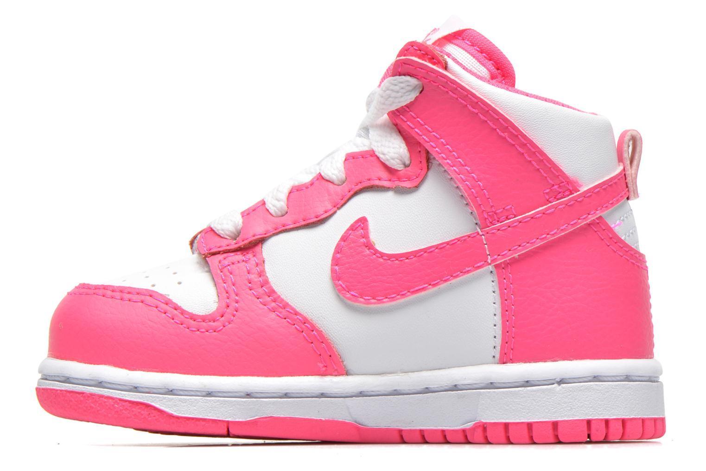 Sneaker Nike Nike Dunk High Nd (Td) weiß ansicht von vorne