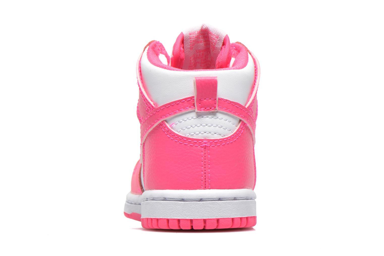 Sneaker Nike Nike Dunk High Nd (Td) weiß ansicht von rechts