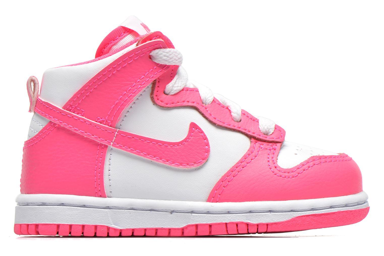 Sneaker Nike Nike Dunk High Nd (Td) weiß ansicht von hinten