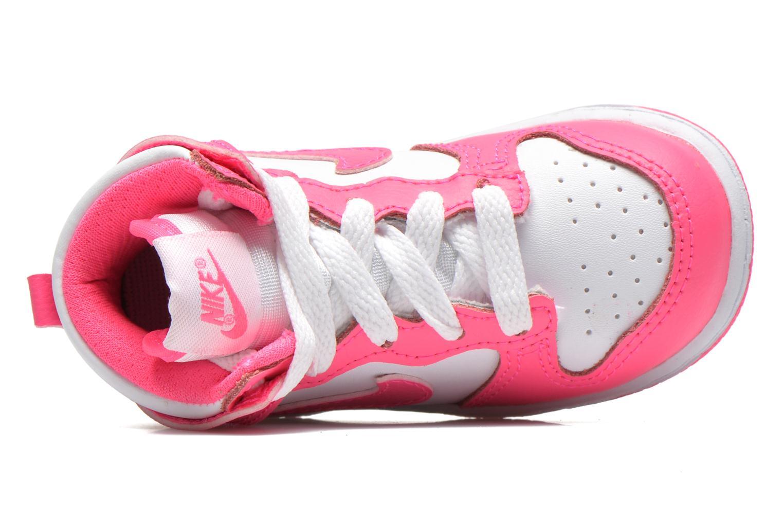Sneaker Nike Nike Dunk High Nd (Td) weiß ansicht von links