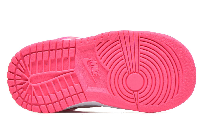 Sneaker Nike Nike Dunk High Nd (Td) weiß ansicht von oben